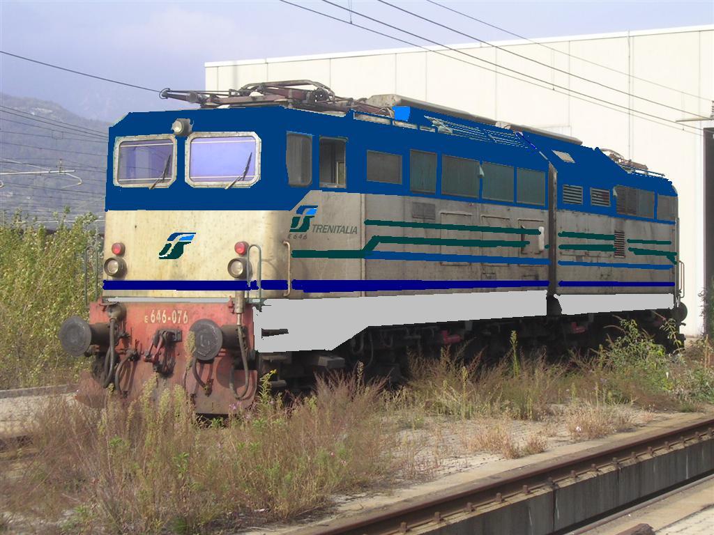 Fotomontaggi di varie livree trainsimhobby for Cabine di querce reali amano va