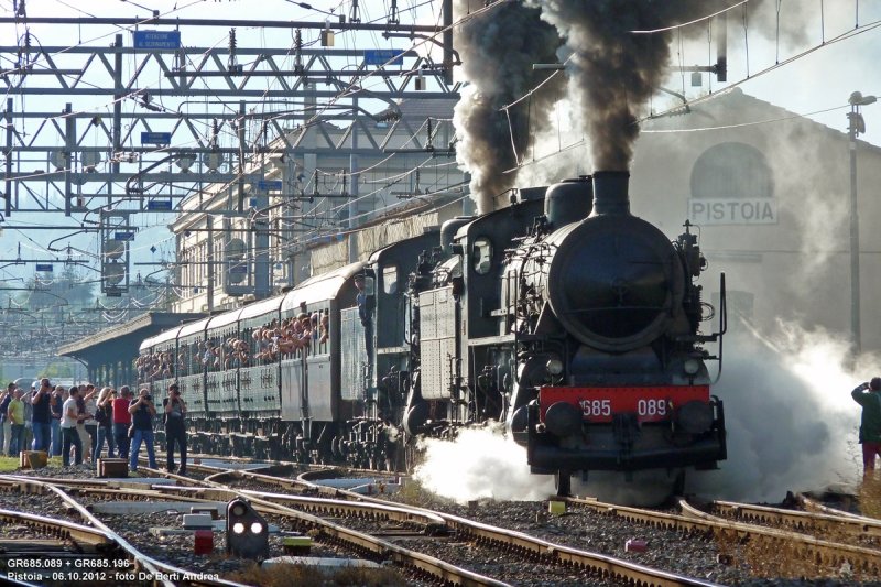 Gr685: la Regina delle locomotive a vapore italiane!